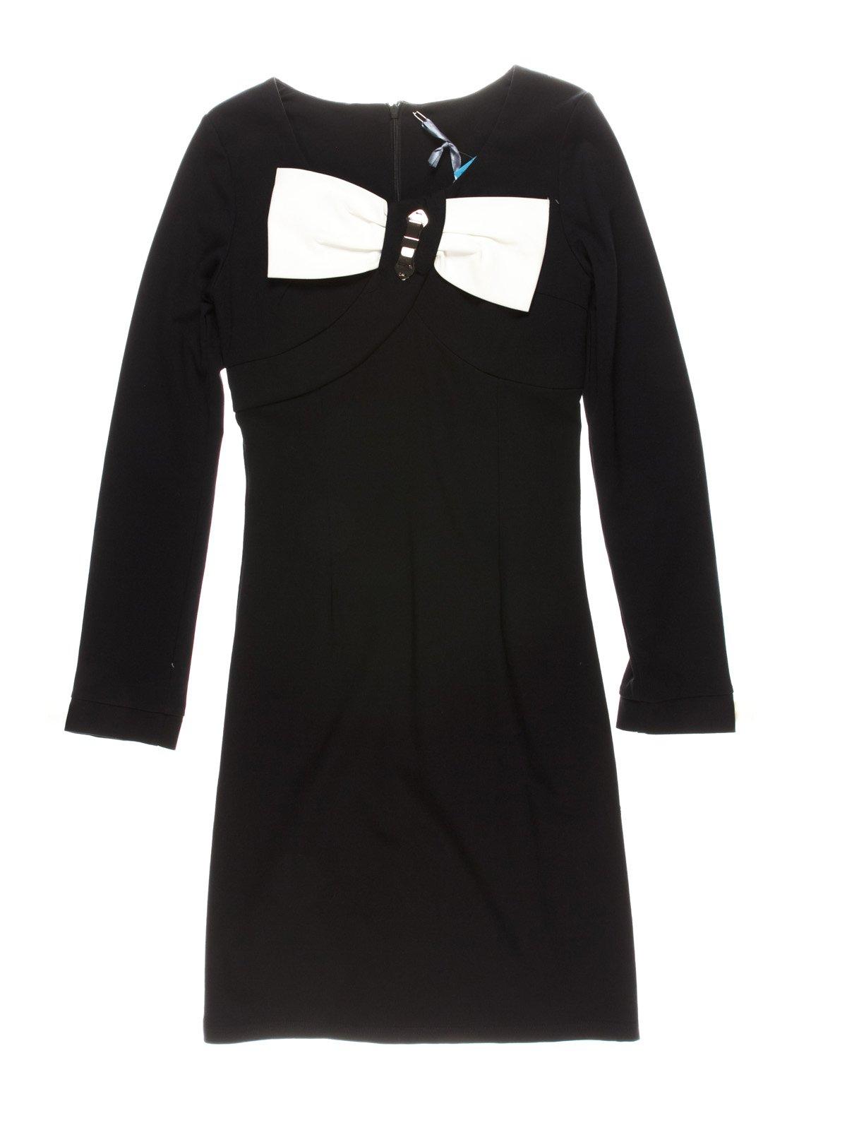 Сукня чорна з бантиком   1342449