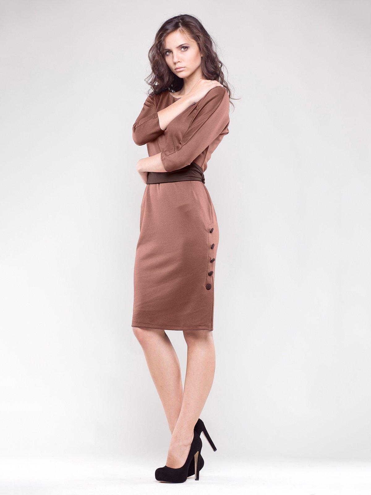 Платье коричневое | 1374788