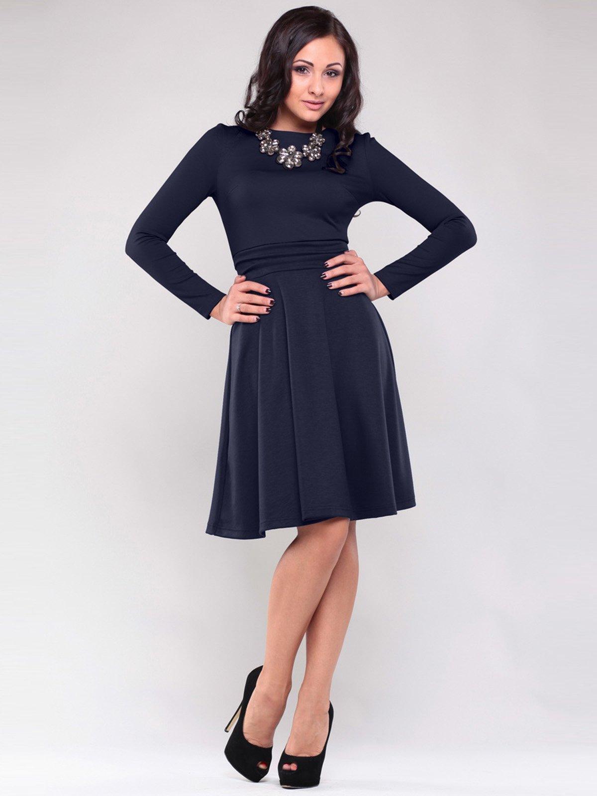 Платье темно-синее | 1397226