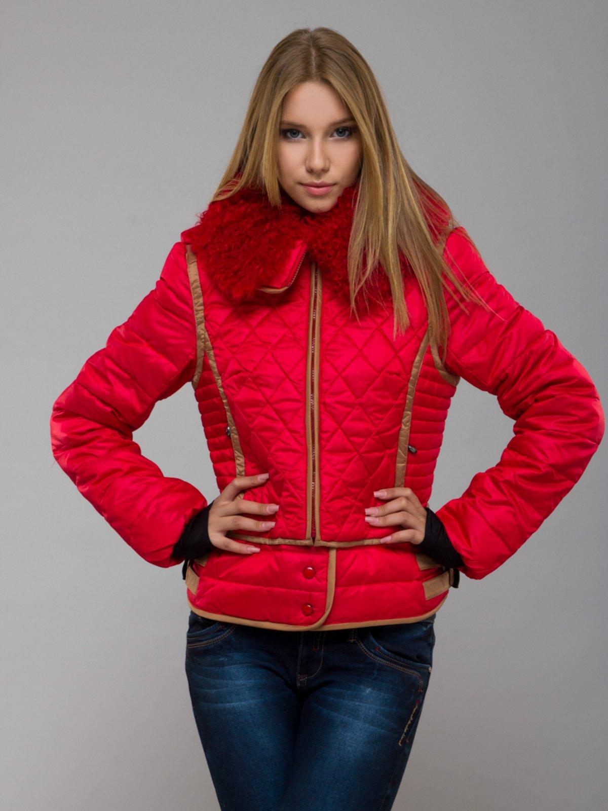 Куртка червона | 254395