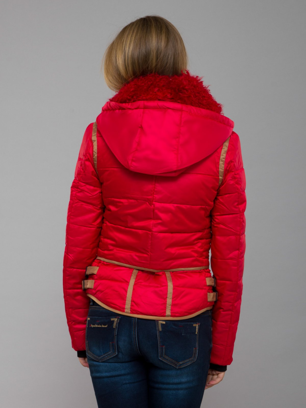 Куртка красная | 254395 | фото 2