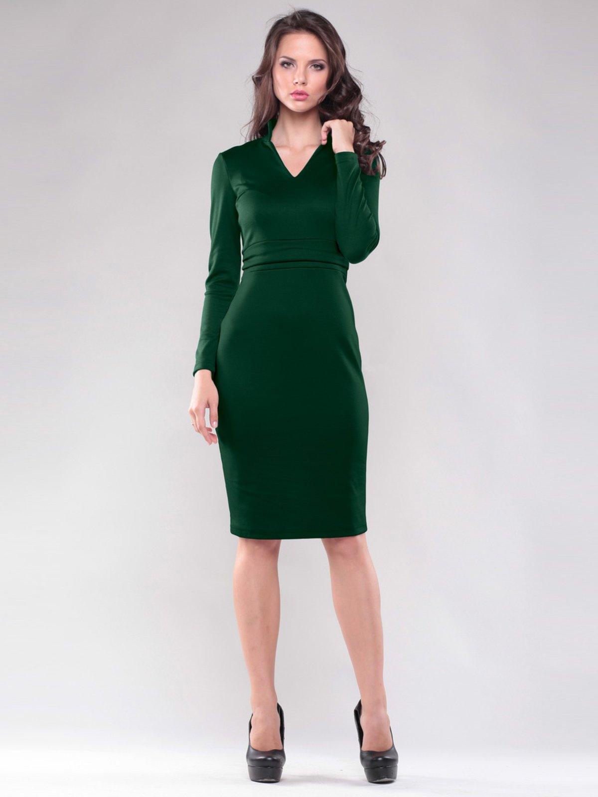 Платье изумрудного цвета | 1397151
