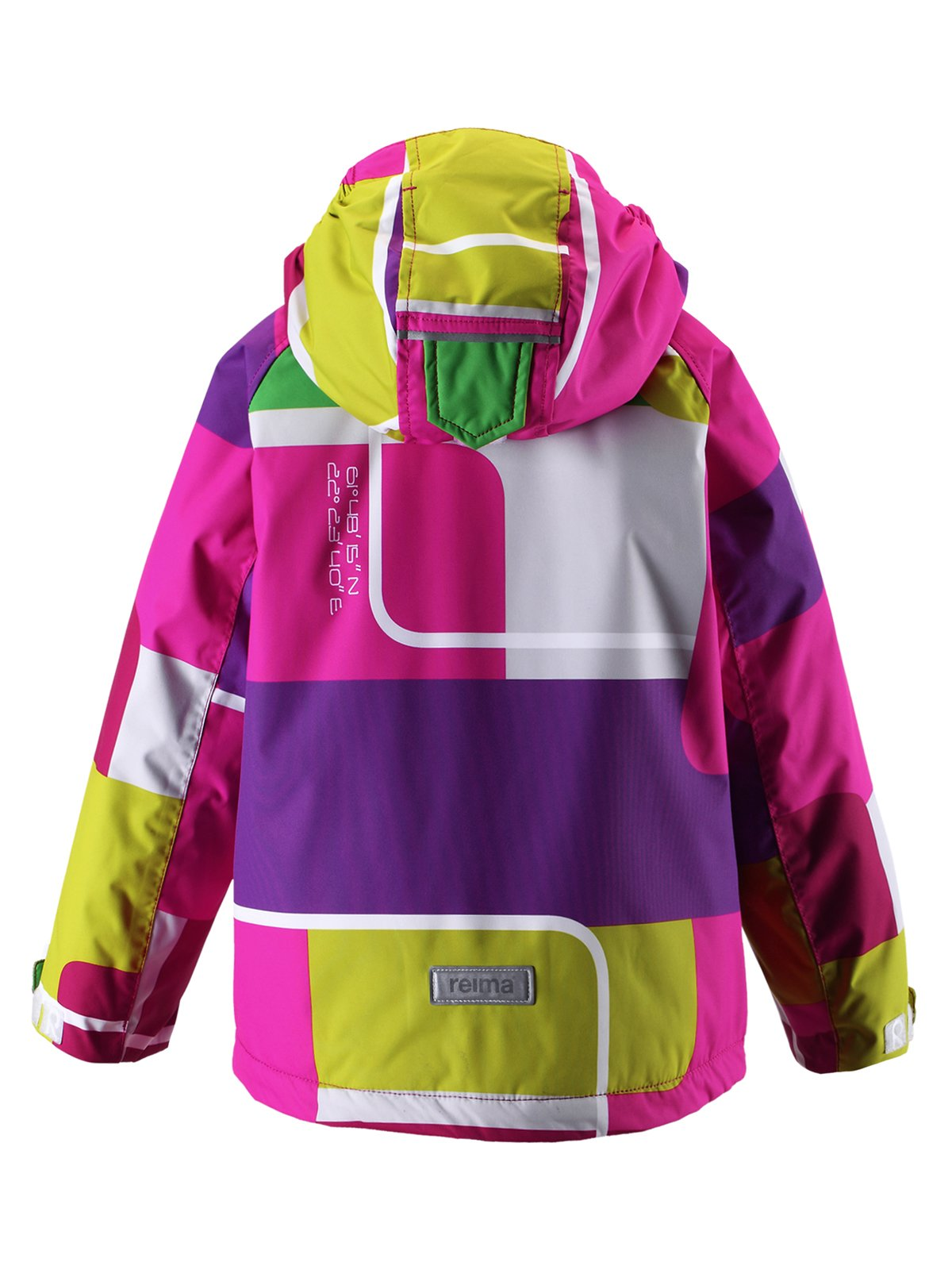 Куртка різнобарвна | 1422432 | фото 2