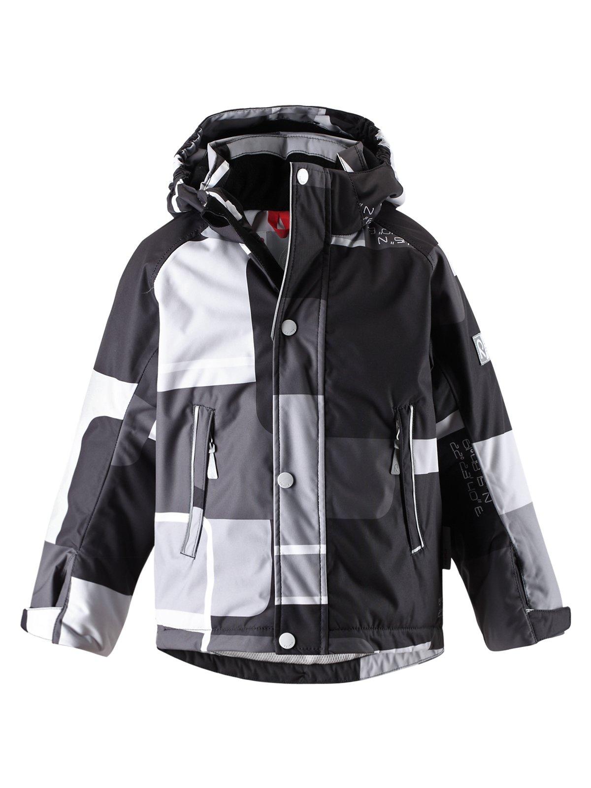 Куртка серо-черная | 1422435