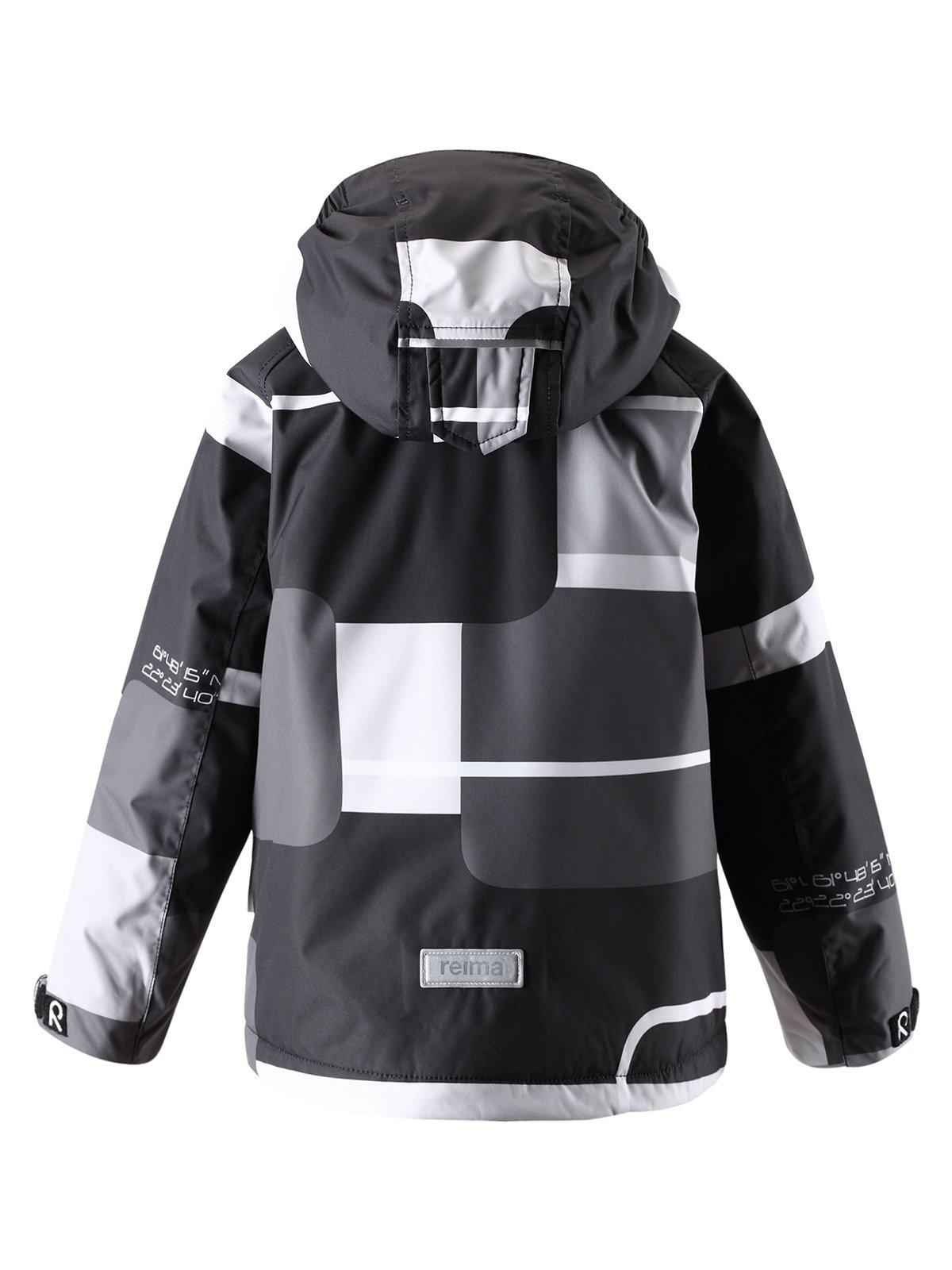 Куртка серо-черная | 1422435 | фото 2