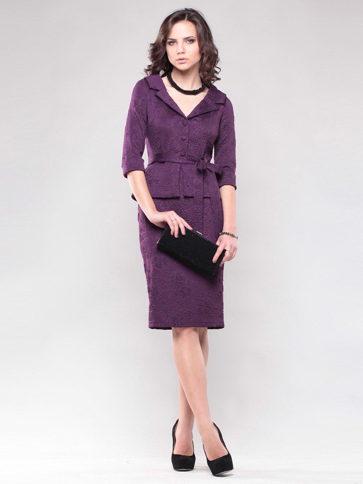 Платье фиолетовое   1438953