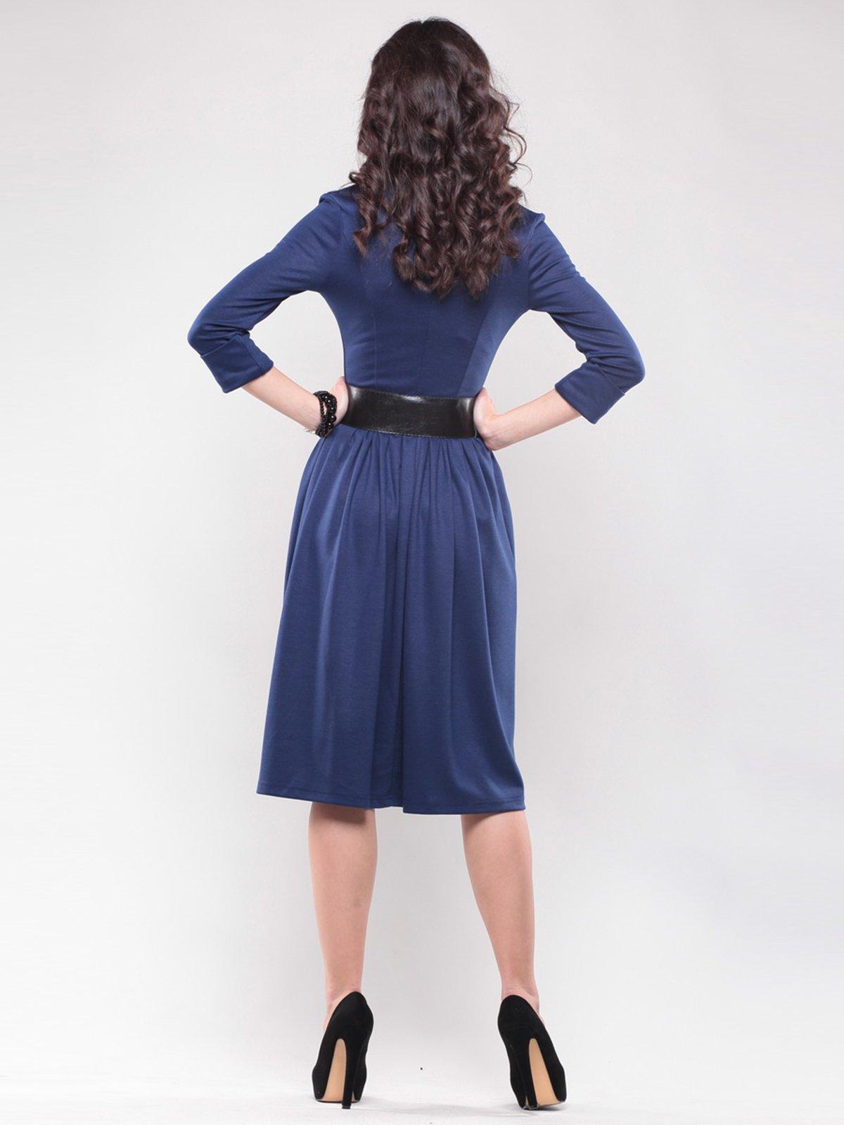 Платье синее   1439023   фото 2