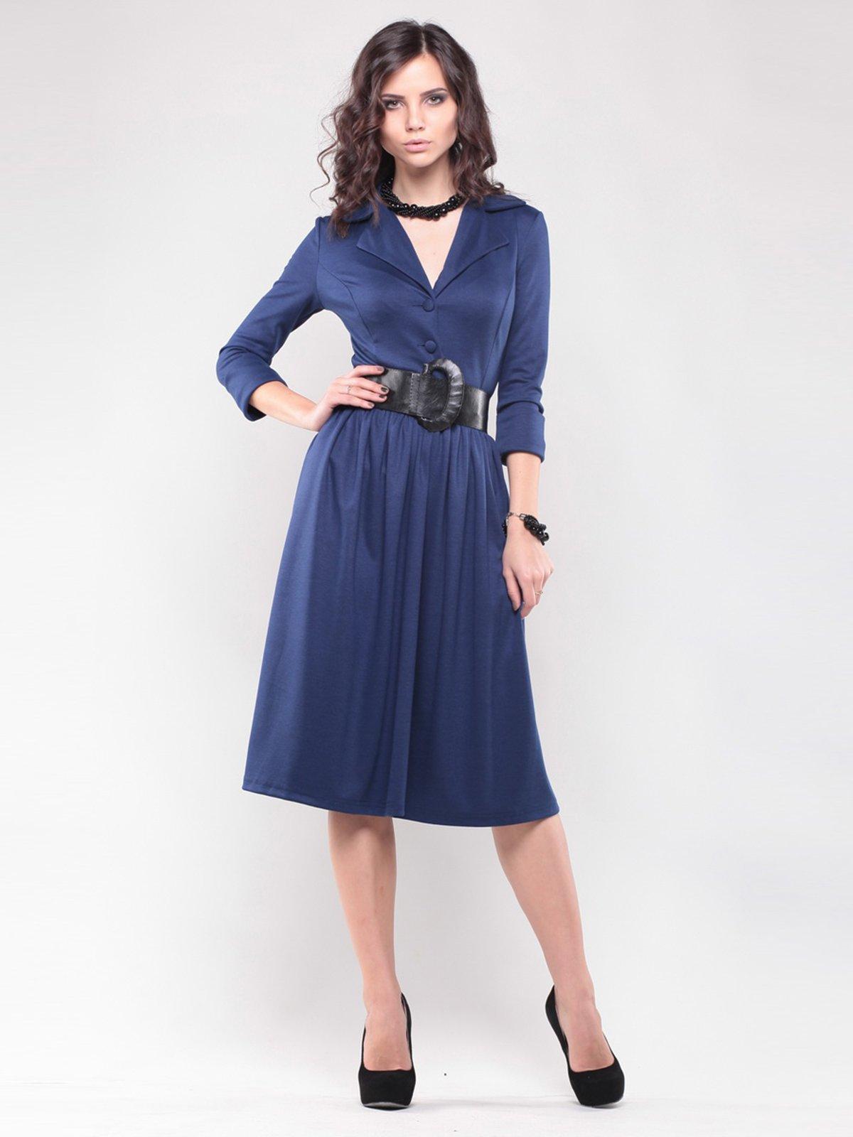 Платье синее   1439023   фото 4