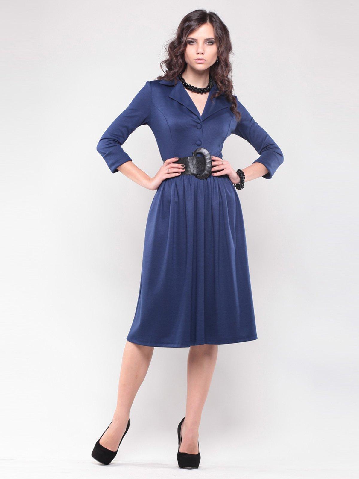 Платье синее   1439023   фото 5