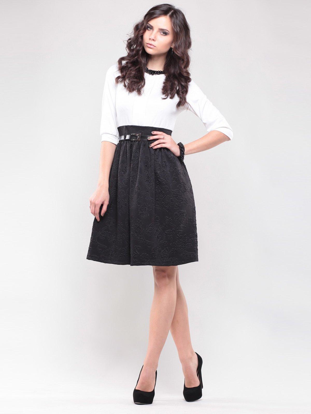 Сукня біло-чорна   1439033