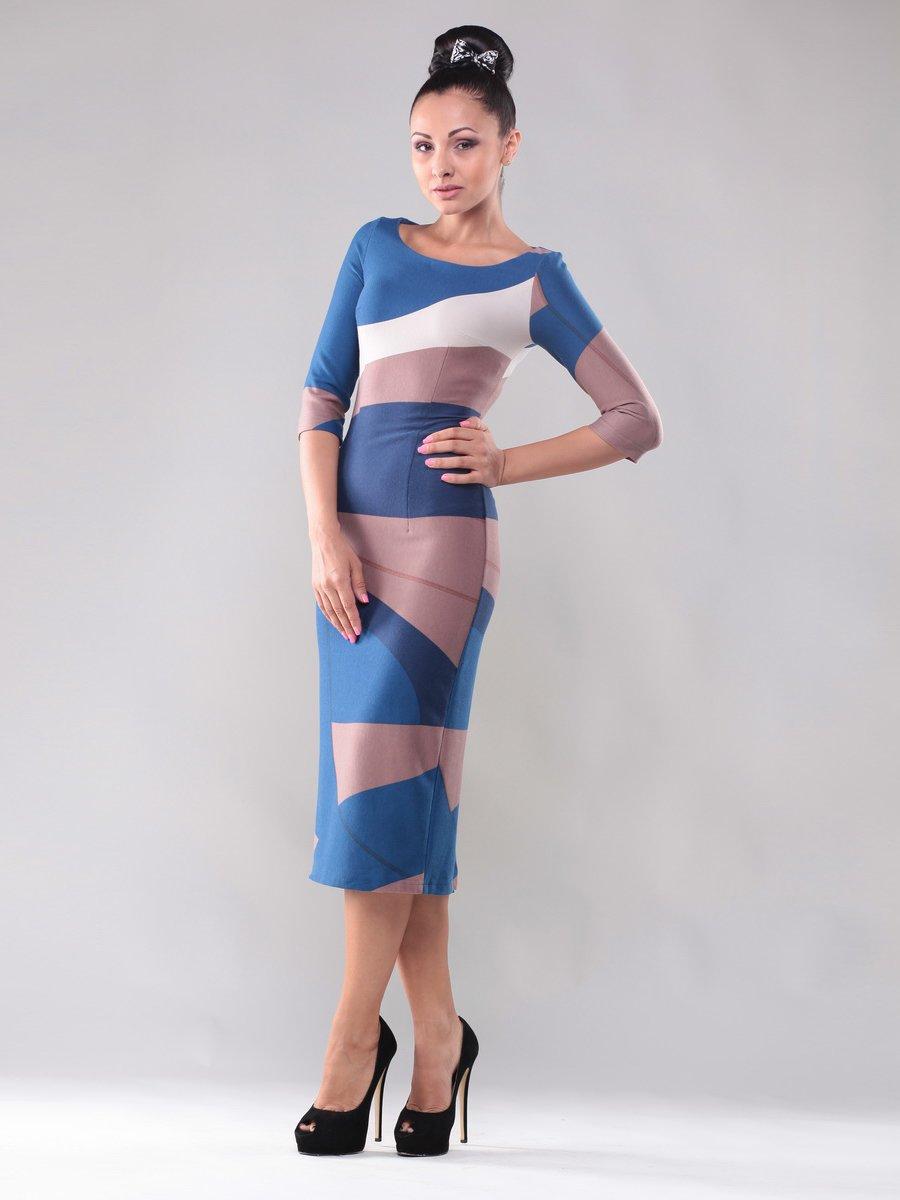 Платье трехцветное | 1469286