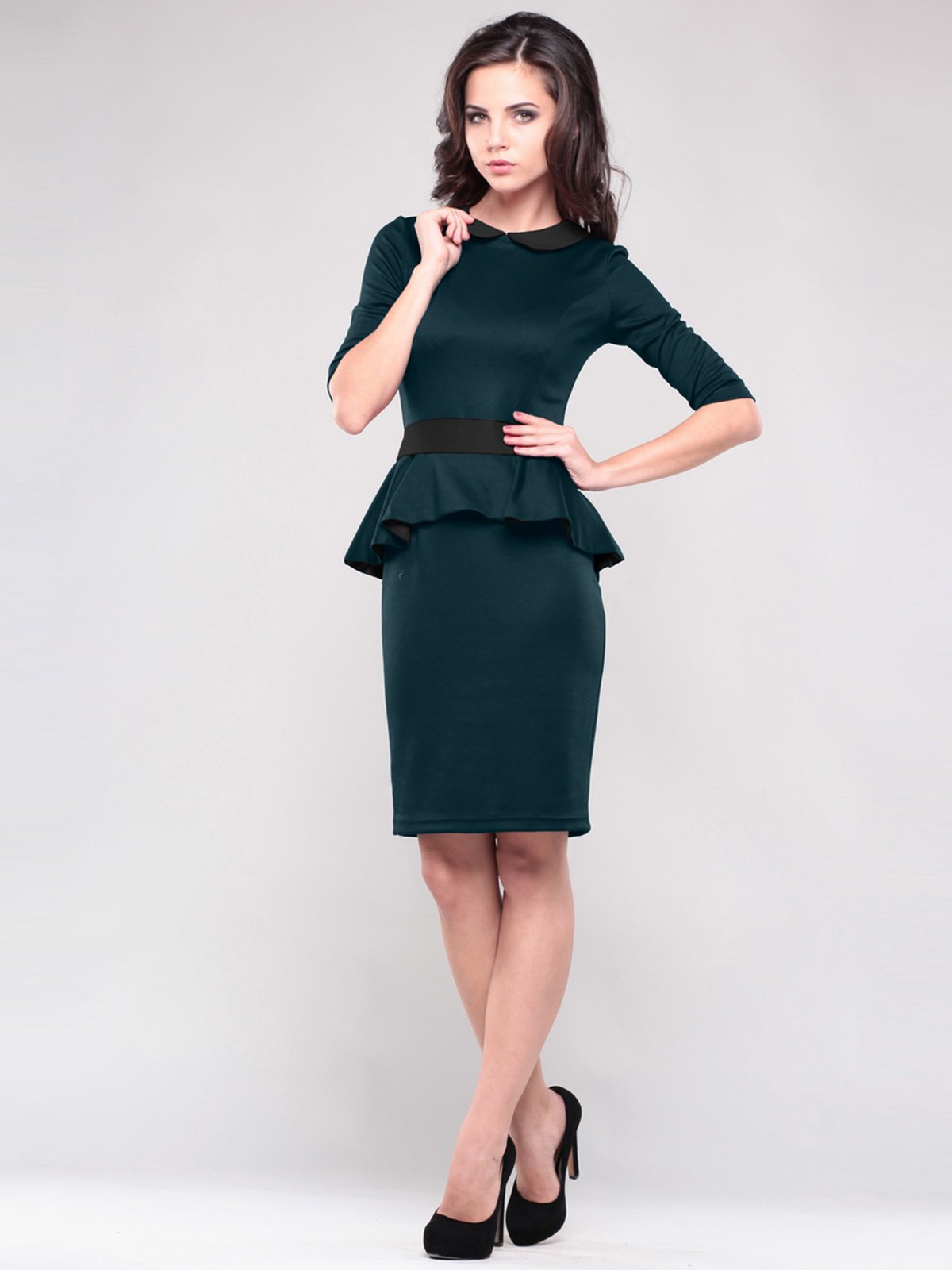 Сукня смарагдового кольору   1485887