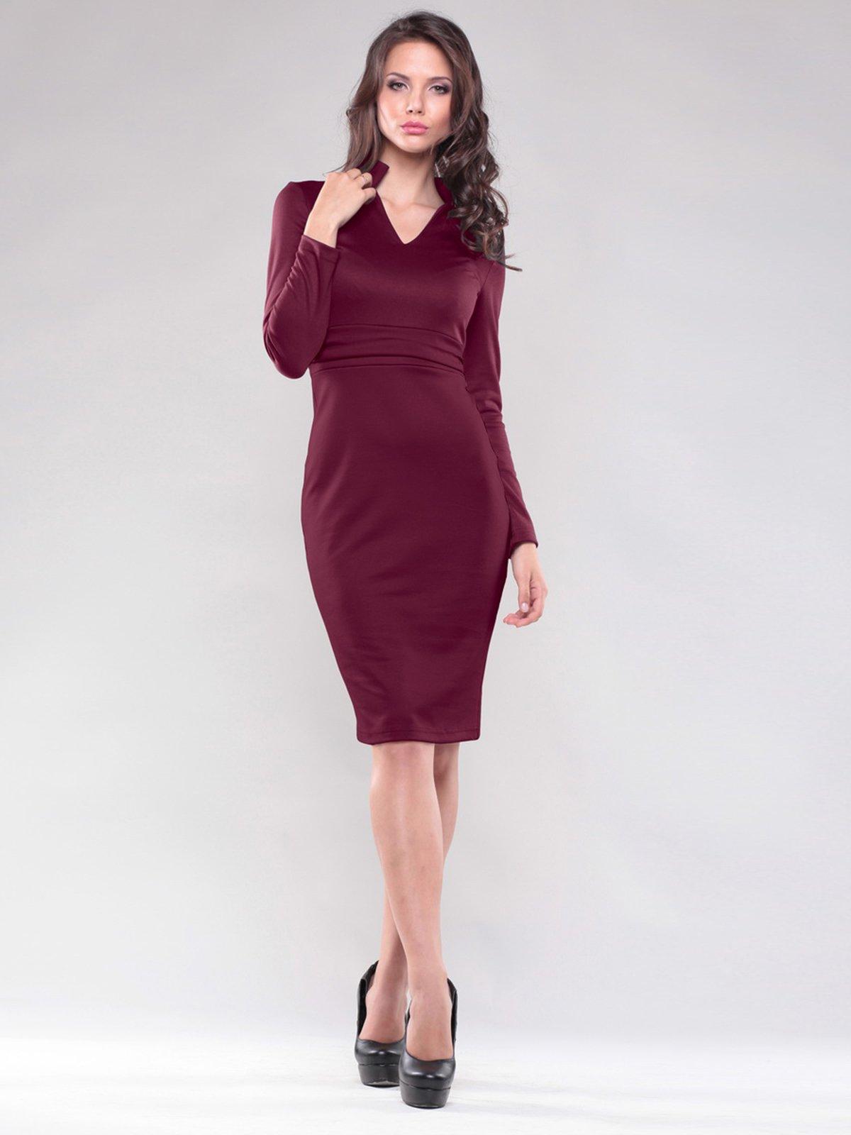 Платье сливового цвета | 1502834