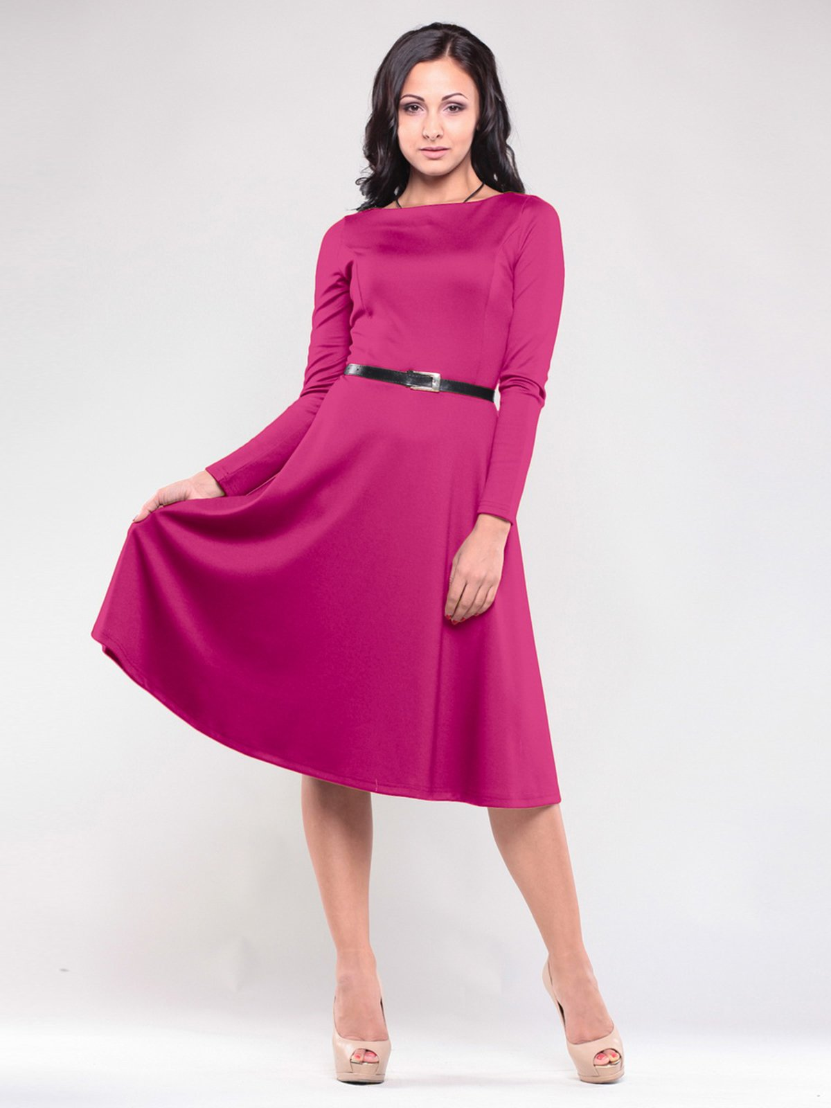 Сукня кольору фуксії | 1506375