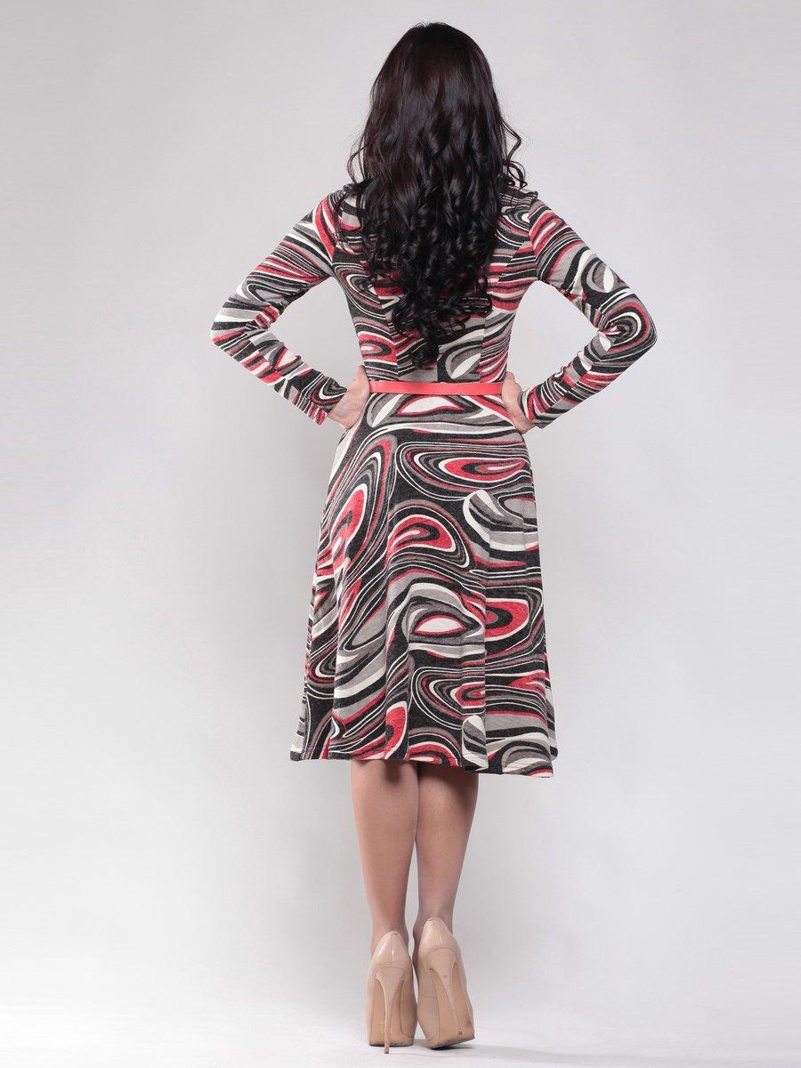 Платье абстрактной расцветки | 1512785 | фото 2