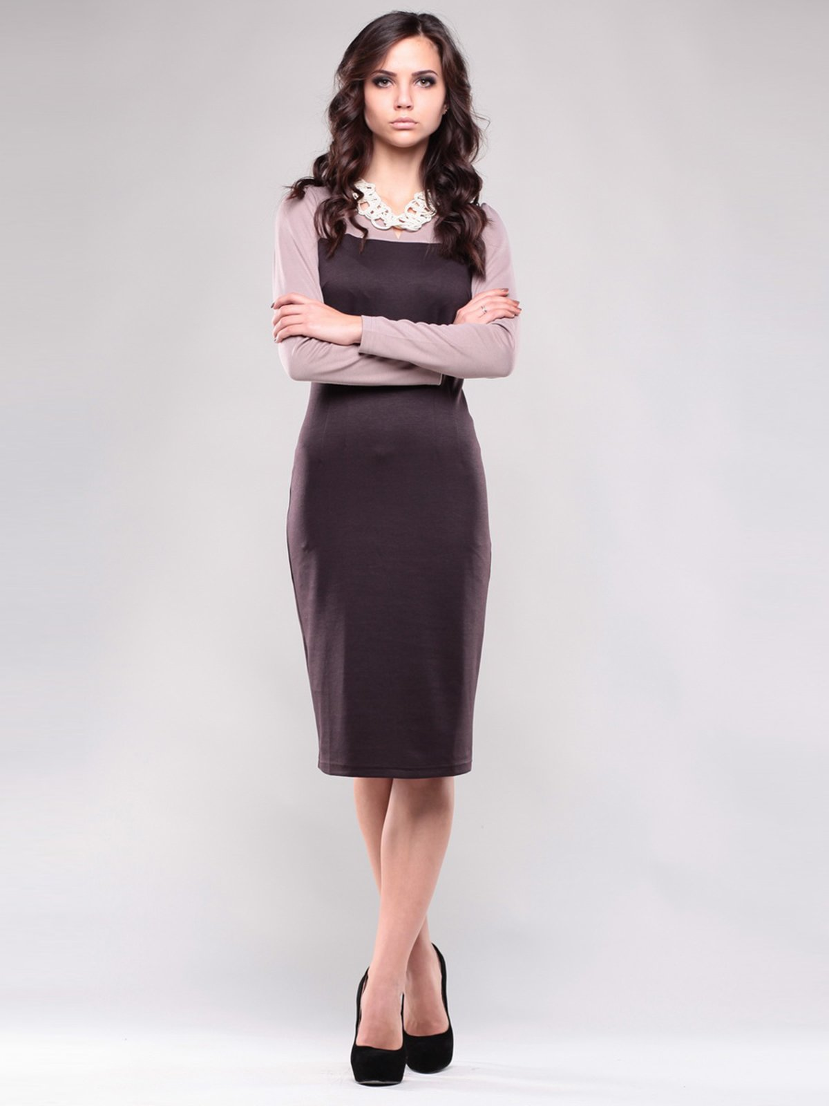 Сукня двоколірна | 1532451