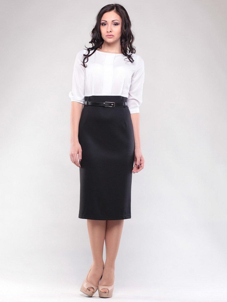 Сукня біло-чорна | 1549872