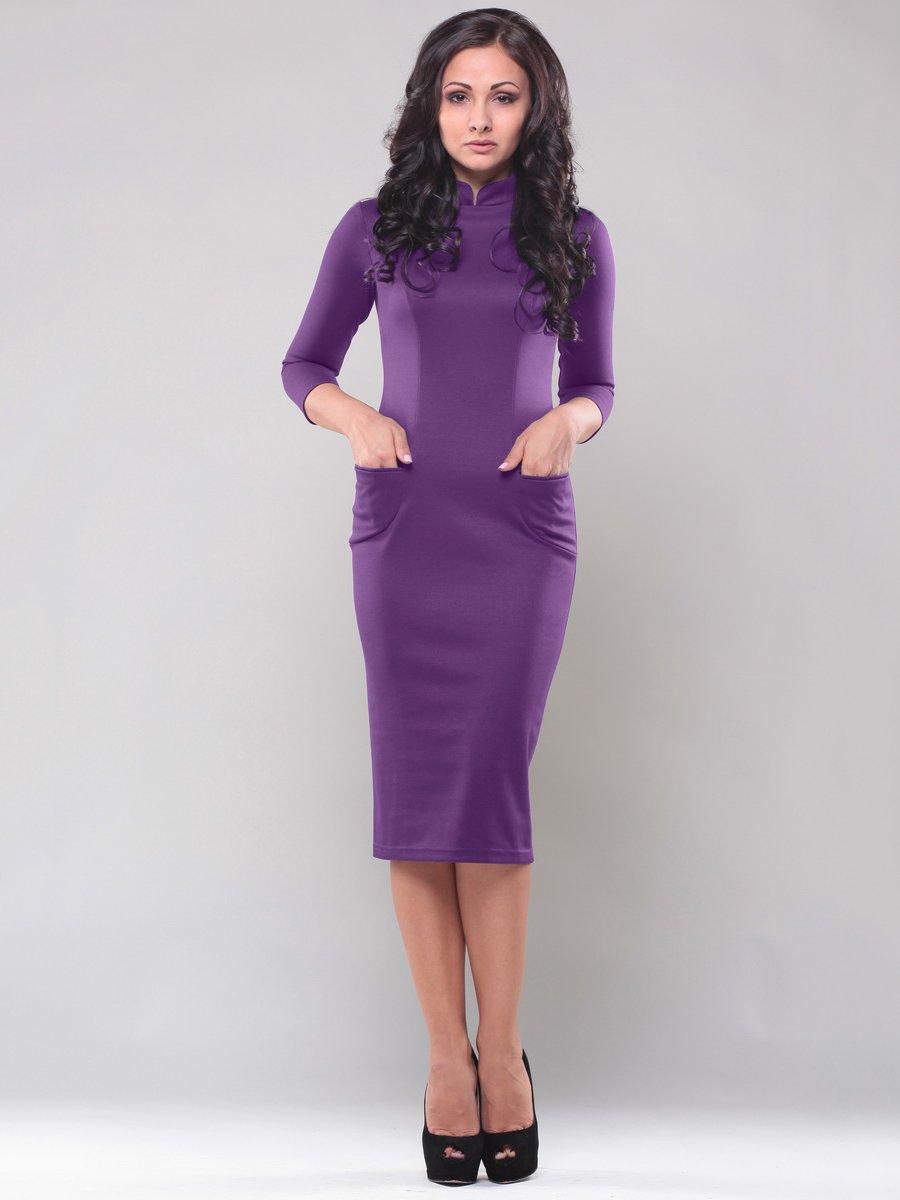 Платье фиолетовое | 1549562