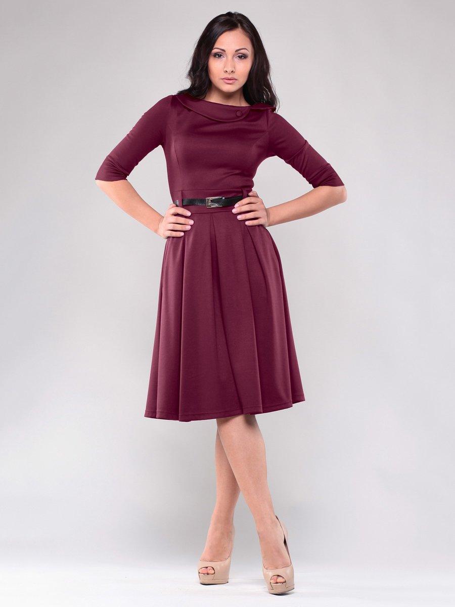 Платье сливового цвета | 1549681