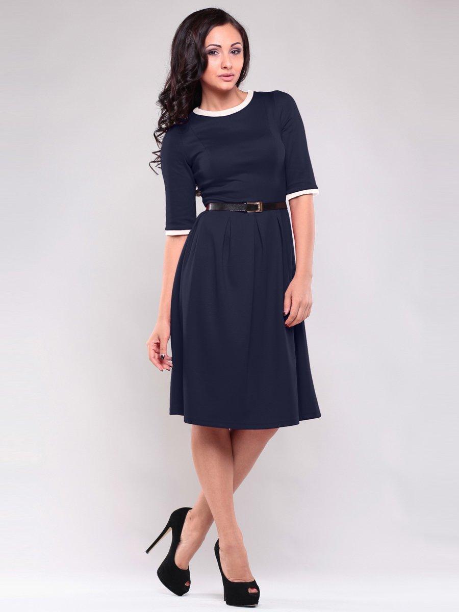 Сукня темно-синього кольору | 1557765