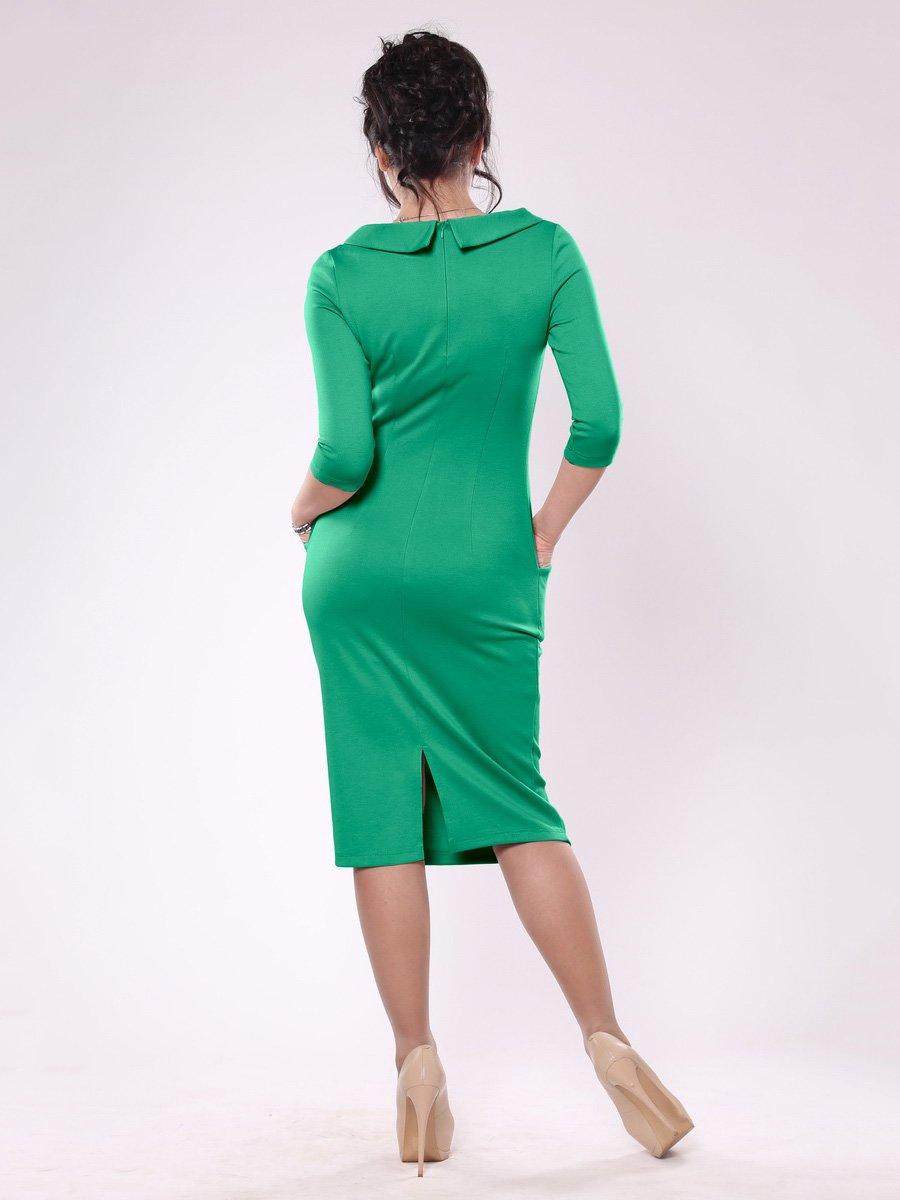 Платье зеленое | 1559799 | фото 2