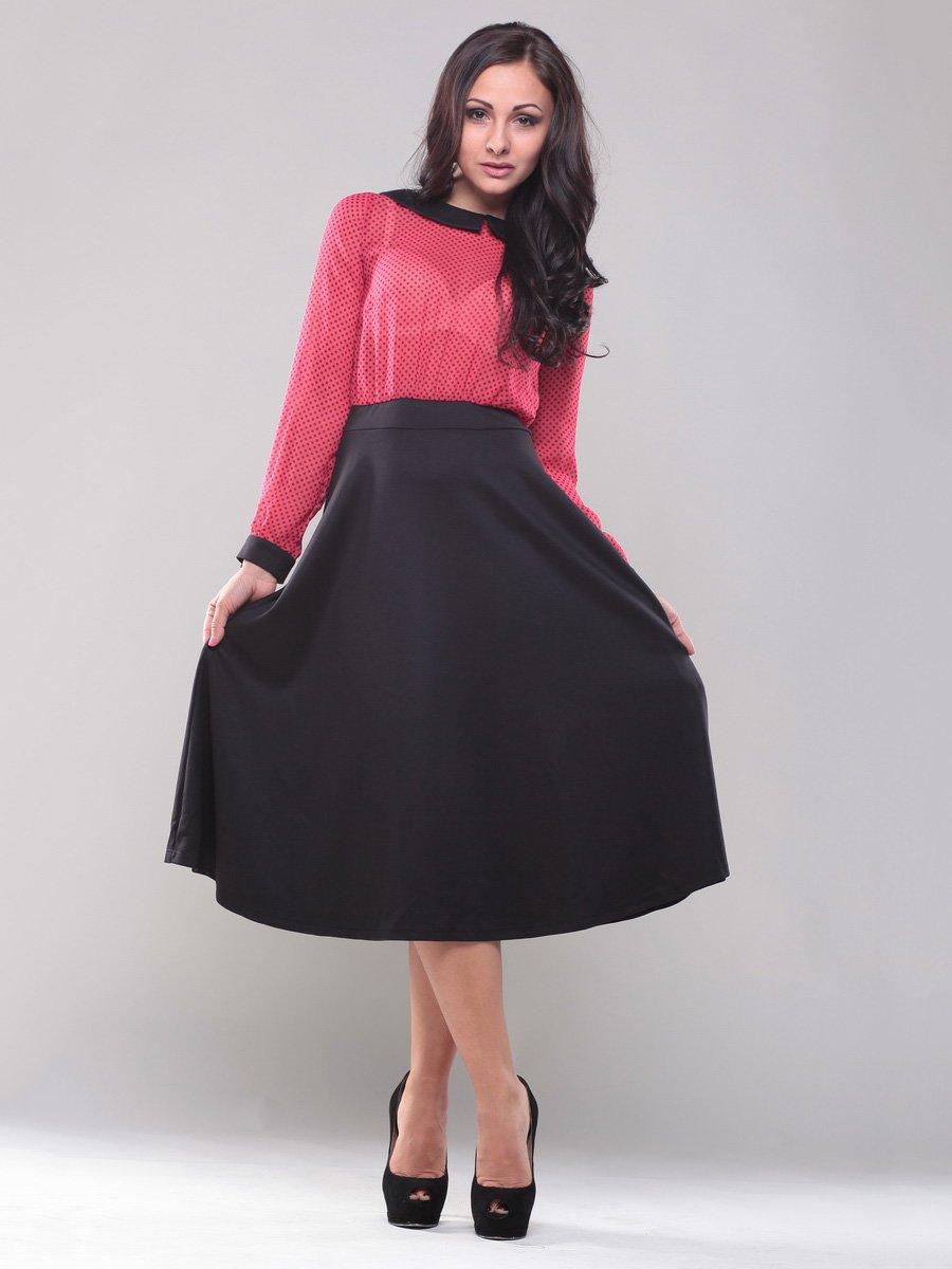 Сукня рожево-чорна | 1567481