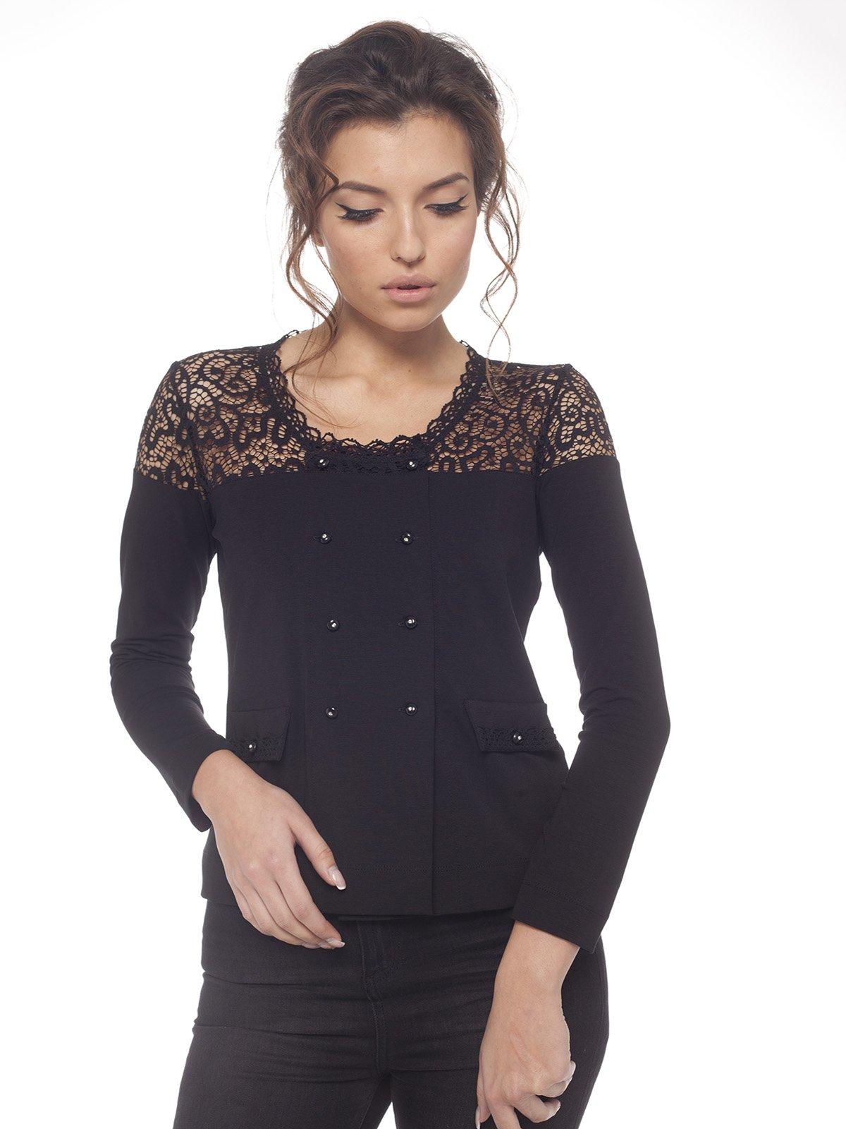 Блуза черная | 1577838