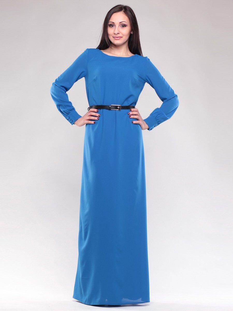 Платье цвета электрик | 1593150