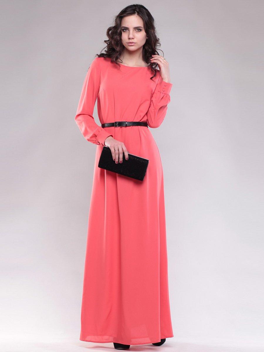 Платье коралловое | 1593151