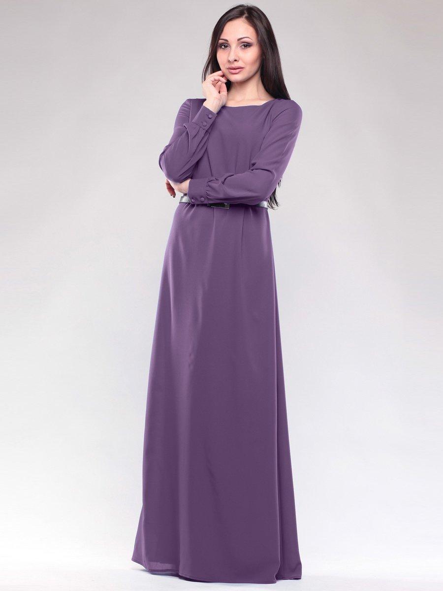 Сукня баклажанова | 1593160