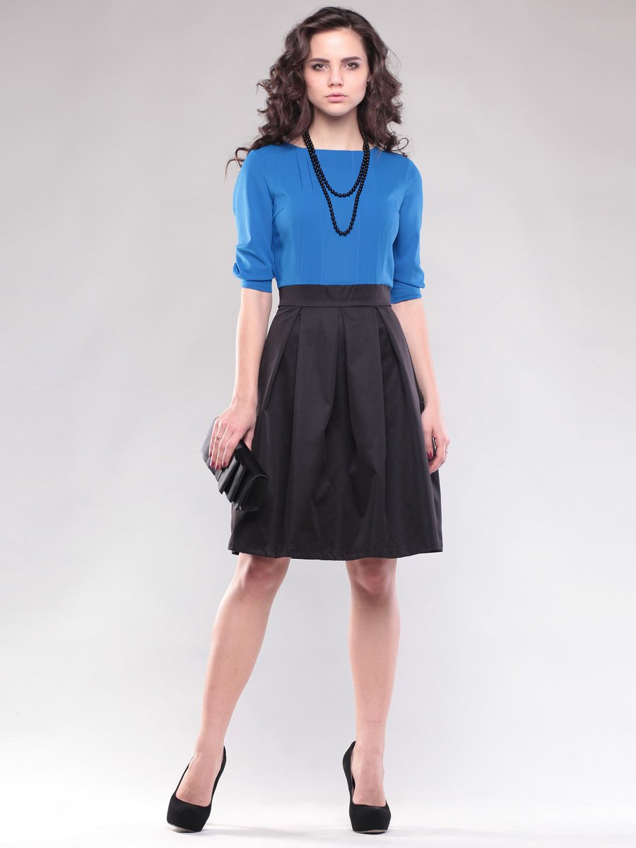 Сукня синьо-чорна | 1593163