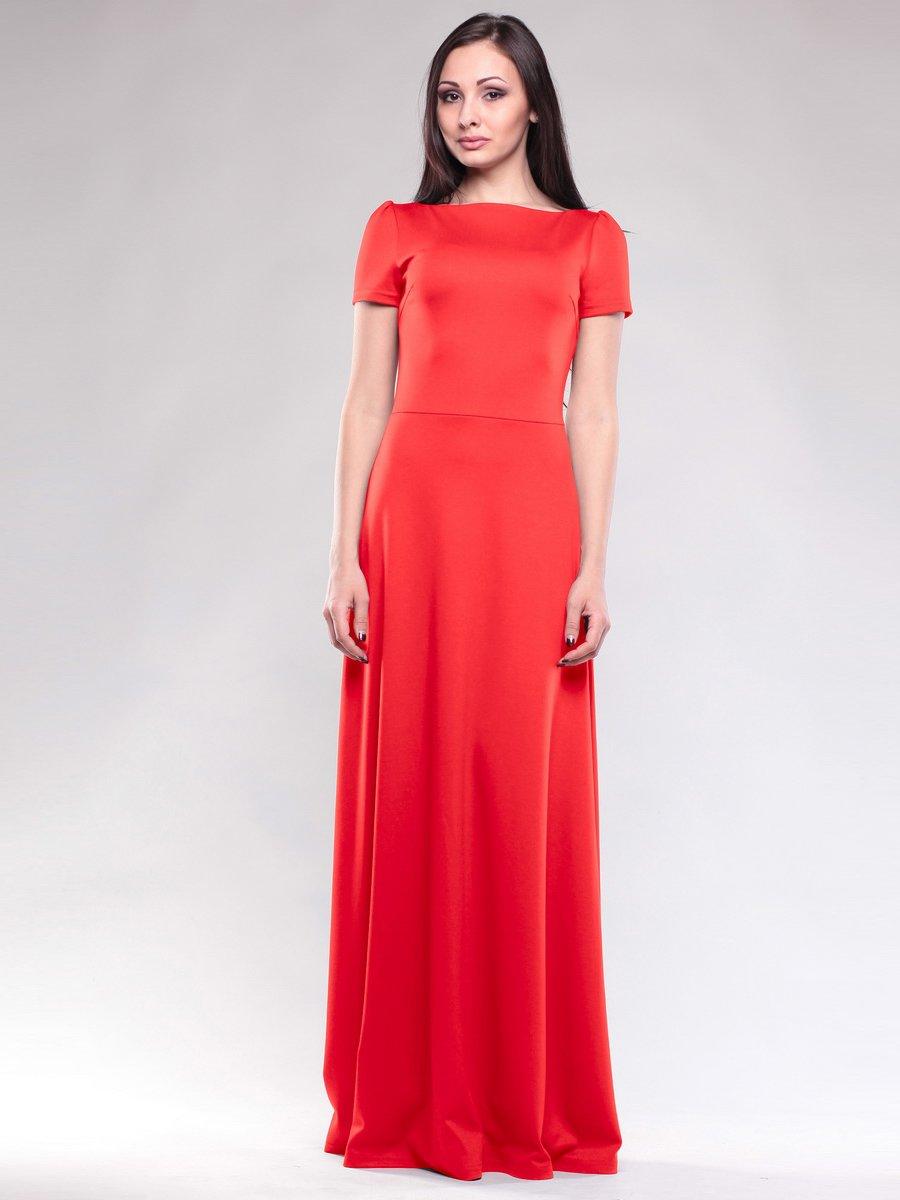 Платье насыщенно-красное | 1593241