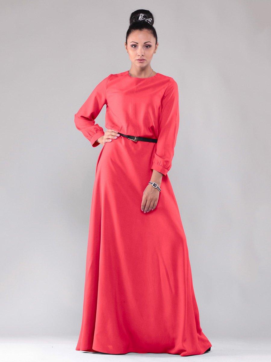 Платье коралловое | 1599789