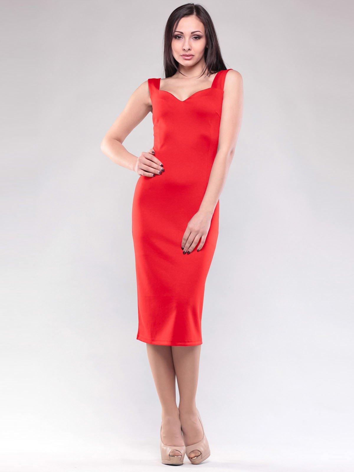 Сукня насичено-червона | 1604465