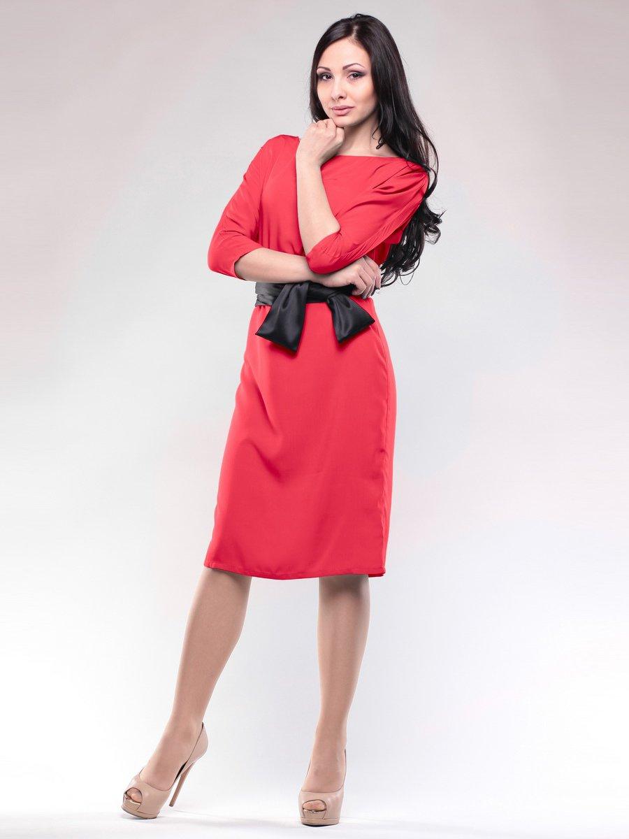 Платье коралловое   1632709
