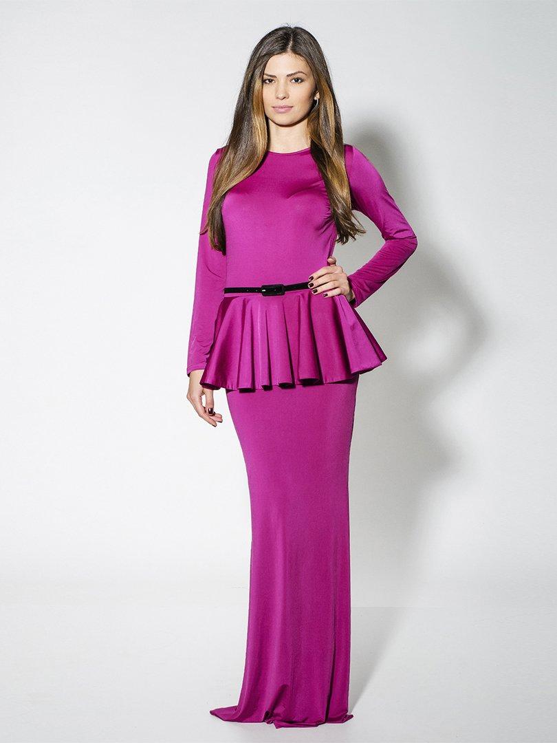 Сукня кольору фуксії | 1631676
