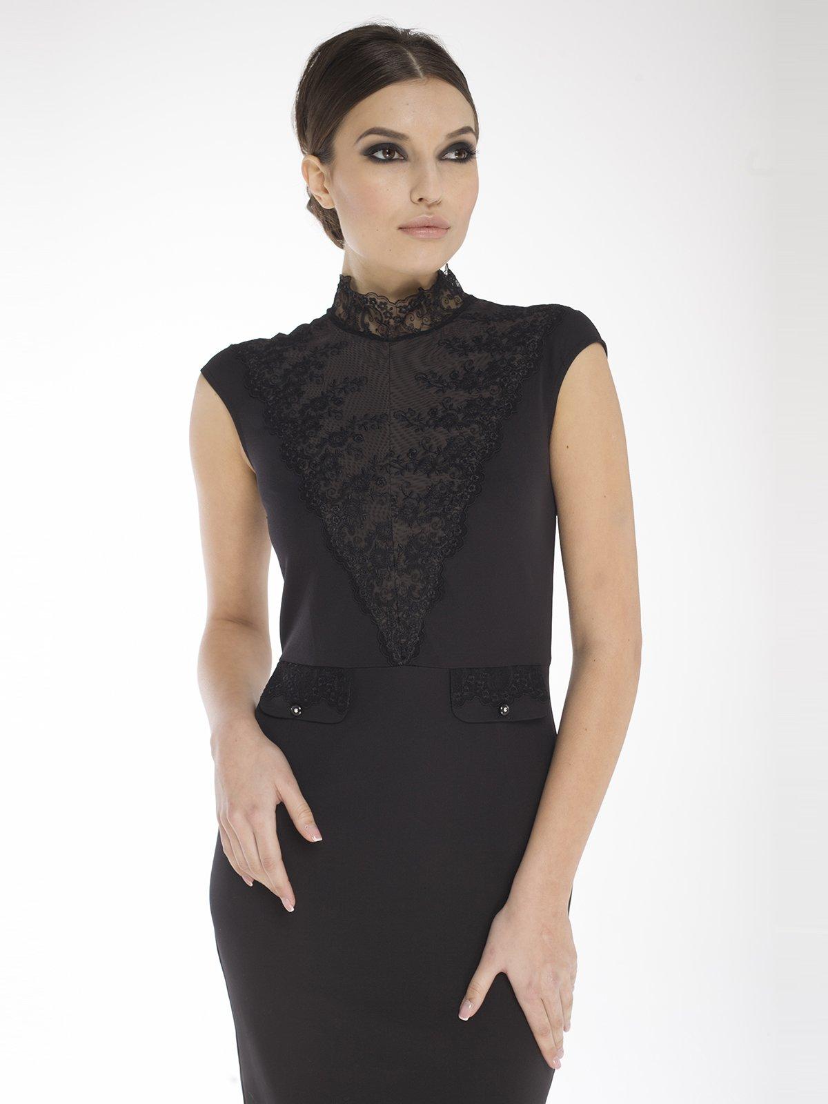 Платье черное | 1633407