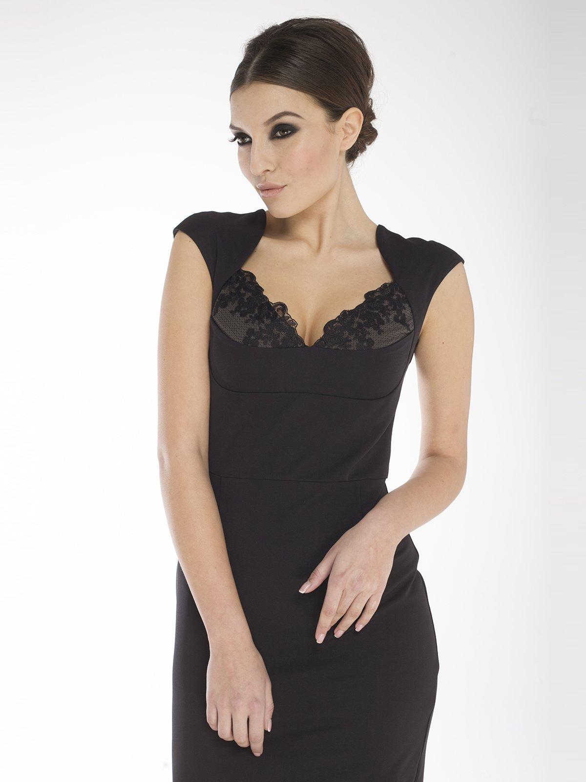 Платье черное | 1633408