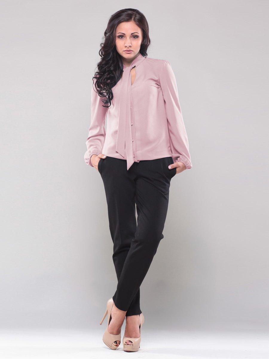 Блуза рожево-бежева | 1638416