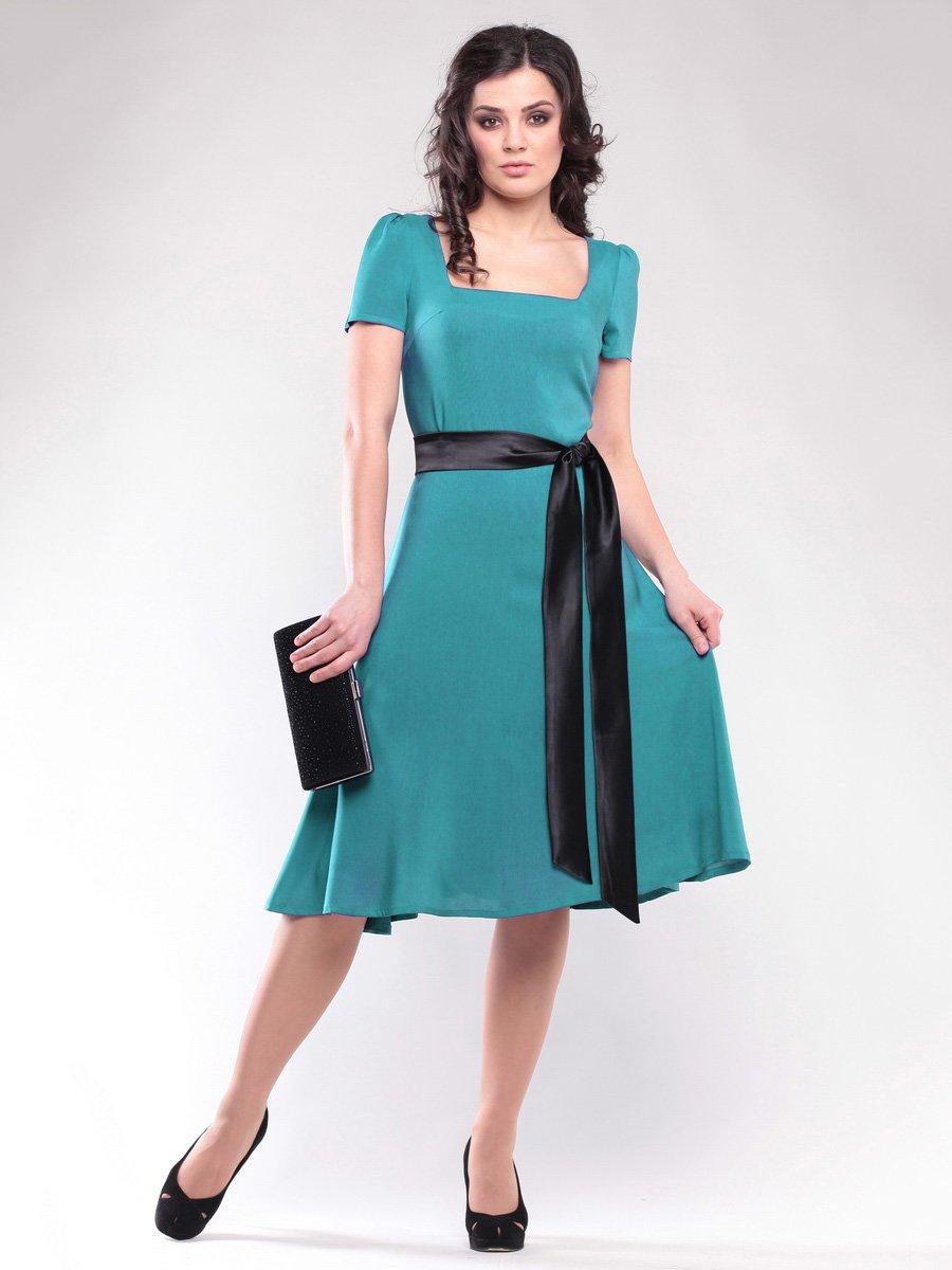 Платье бирюзовое | 1647182