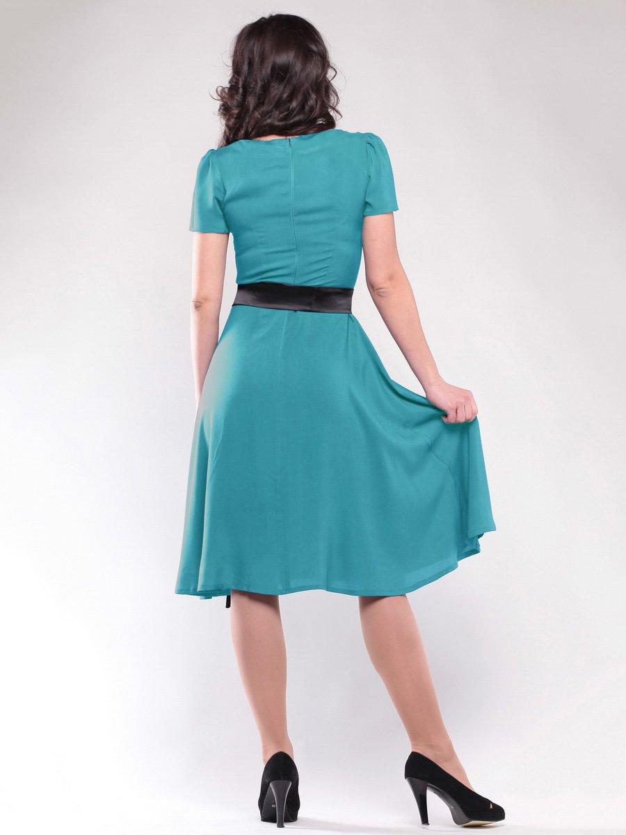 Платье бирюзовое | 1647182 | фото 2