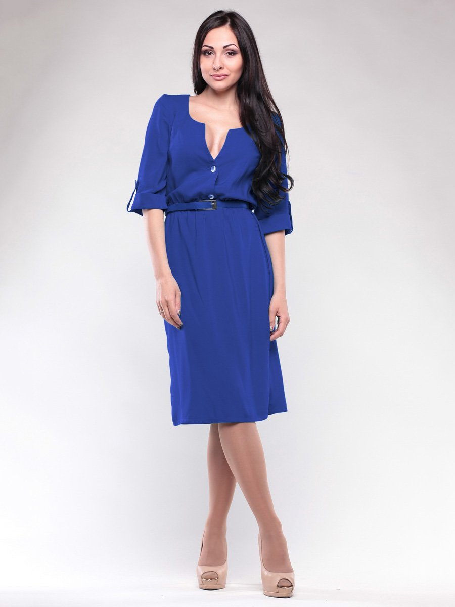 Платье цвета электрик | 1659660
