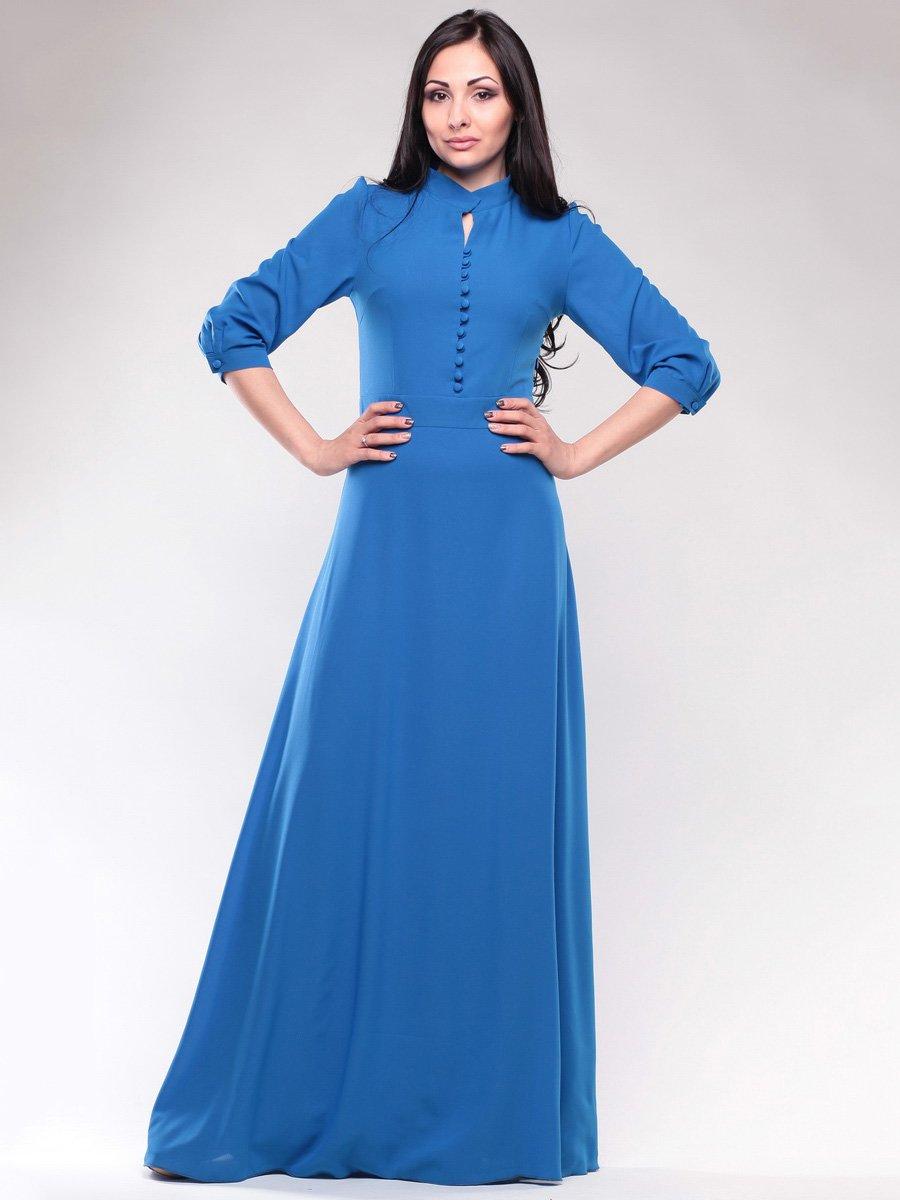 Платье цвета электрик | 1659675