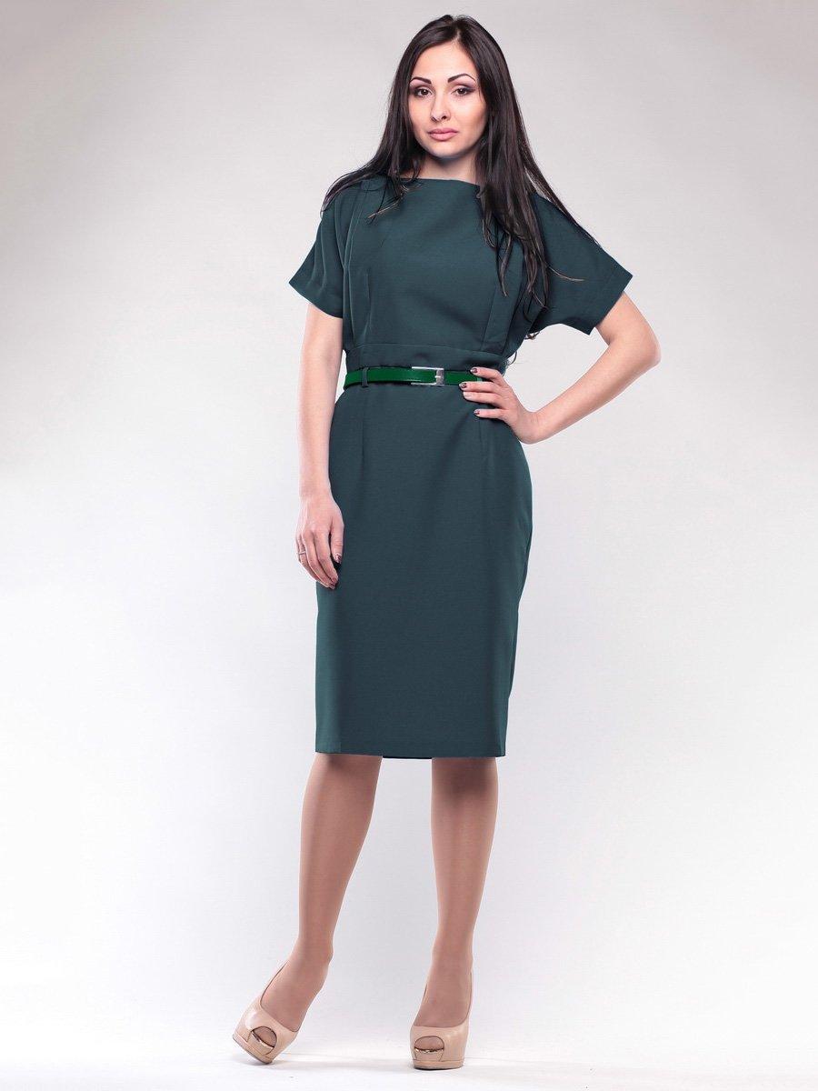 Платье темно-изумрудного цвета | 1663576