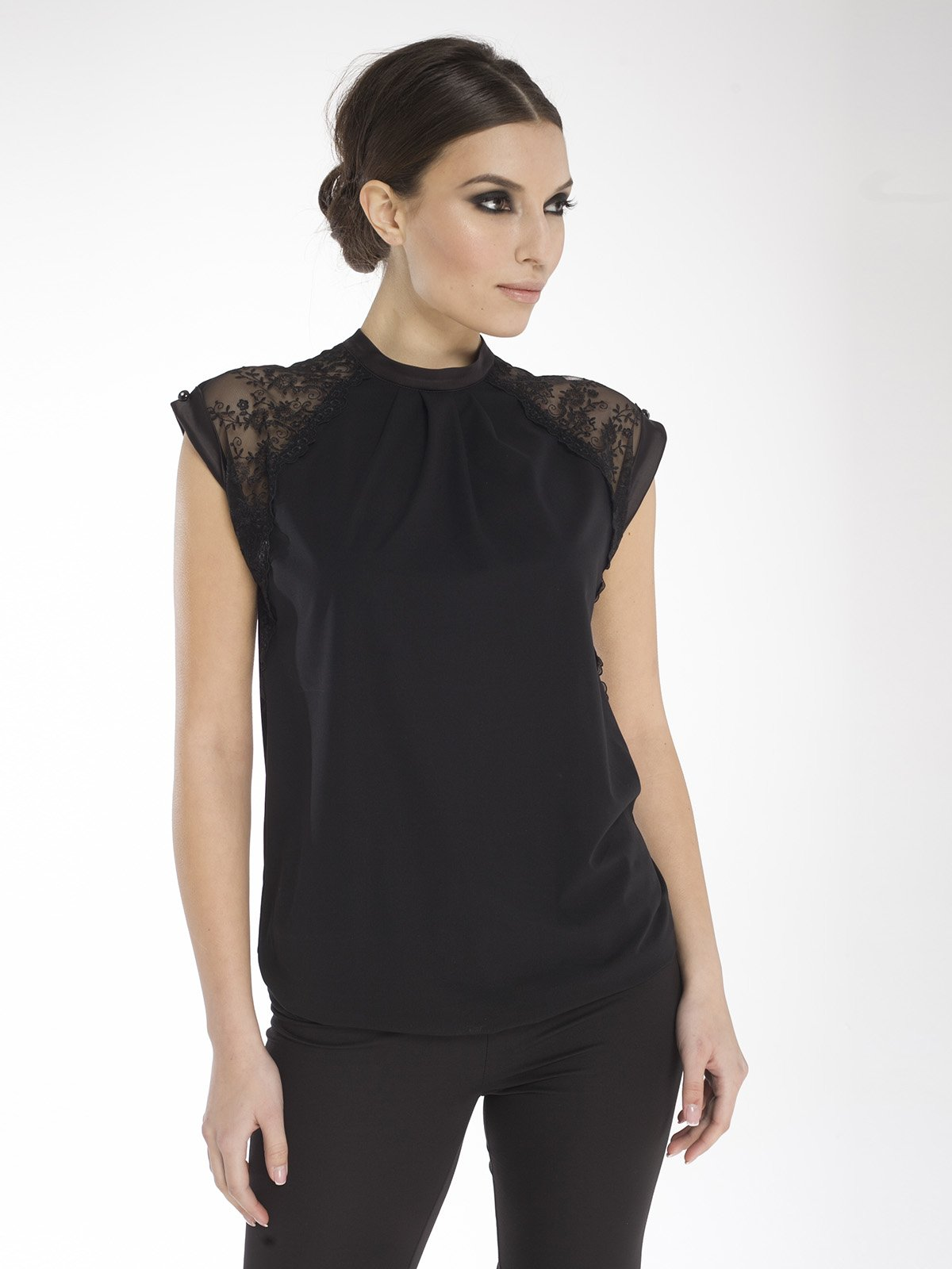 Блуза черная   1673192