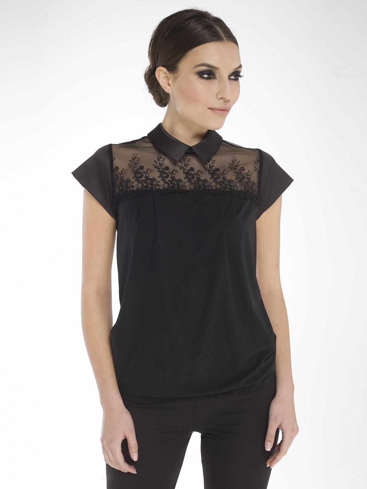 Блуза черная | 1673193