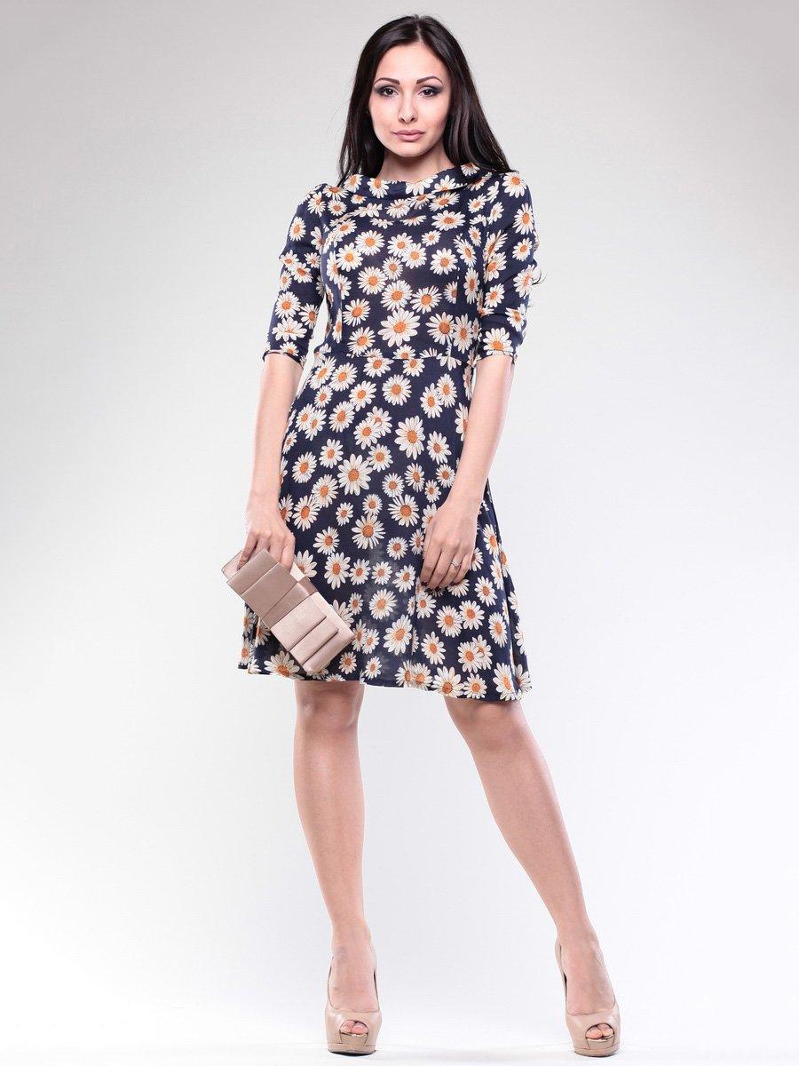 Платье в цветочный принт | 1679679