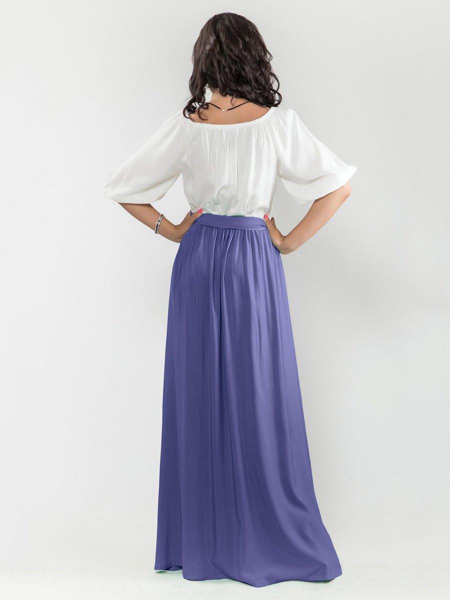 Платье бело-синее   1682711   фото 2