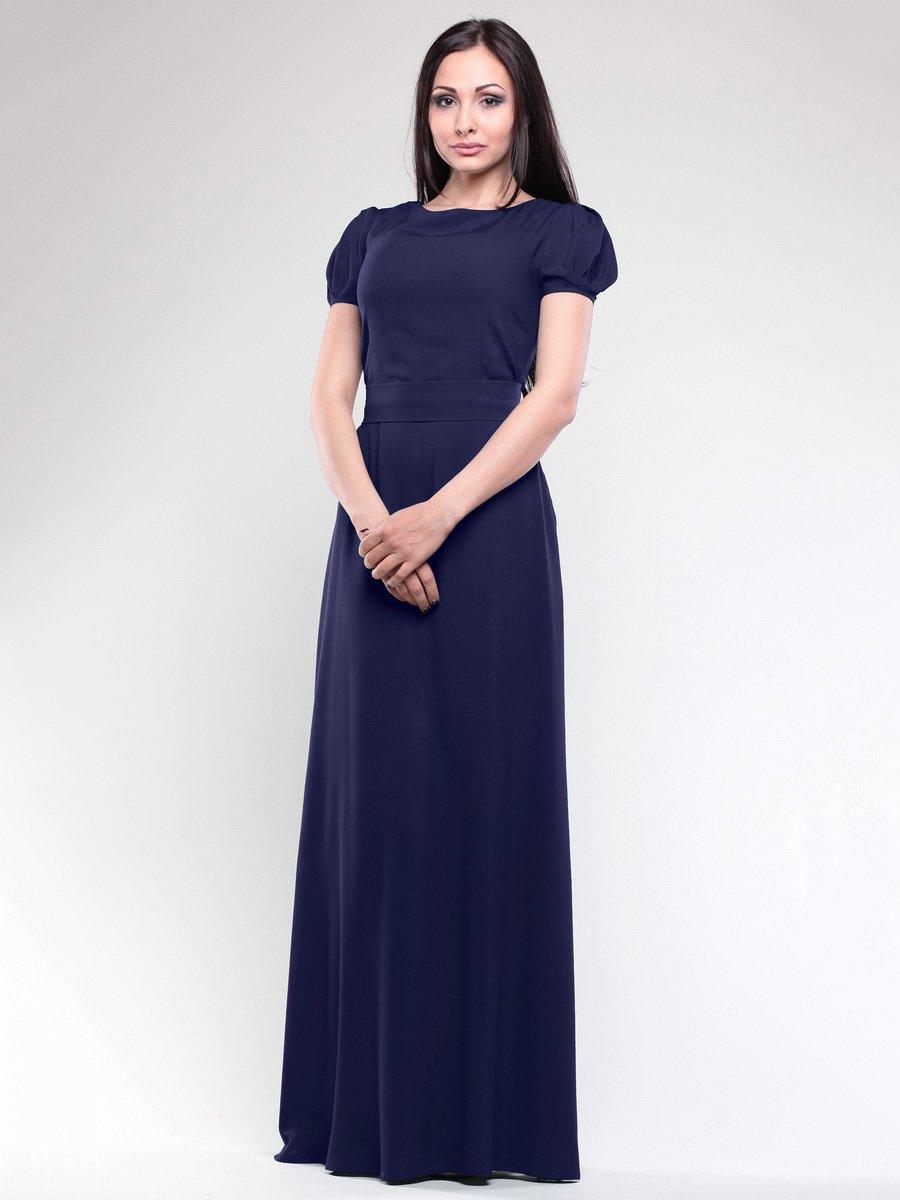 Сукня темно-синя | 1687003