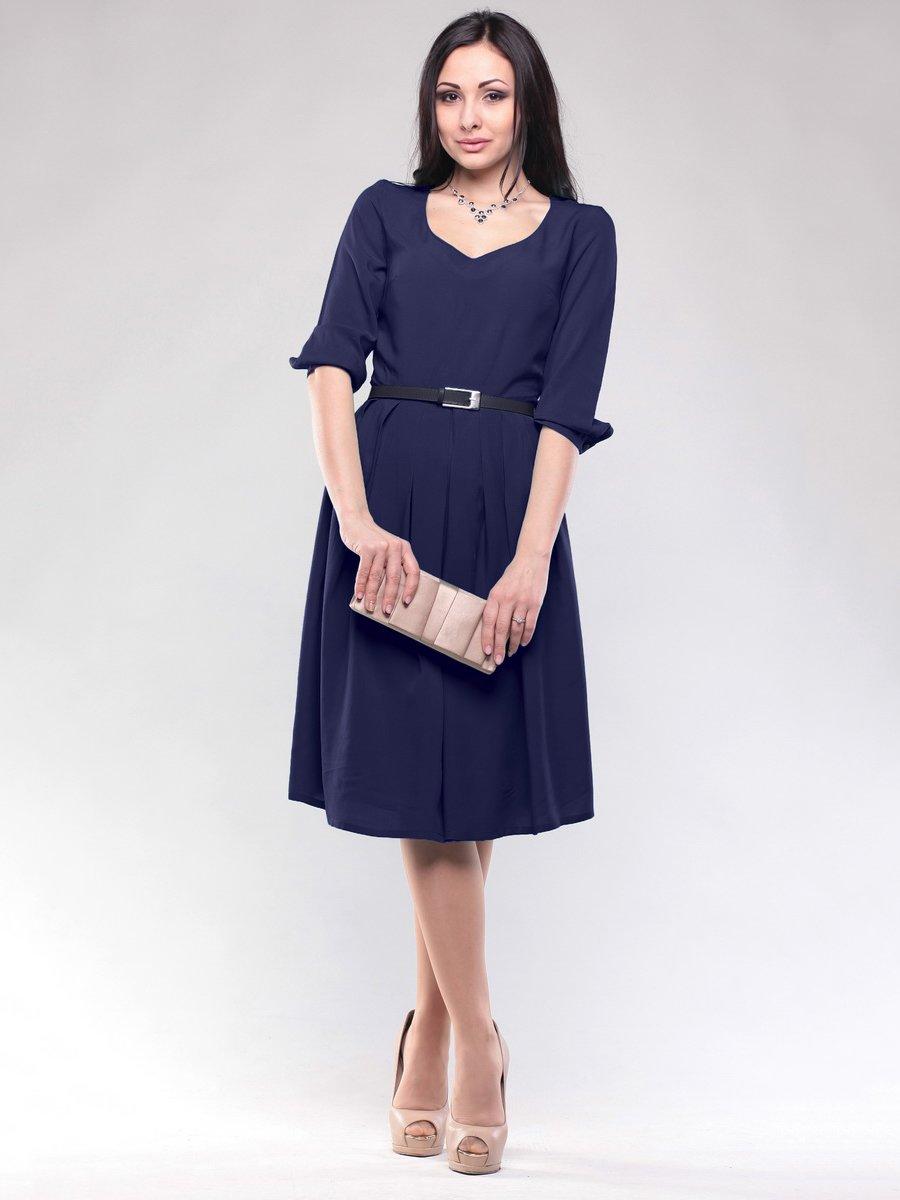 Сукня темно-синя | 1687098